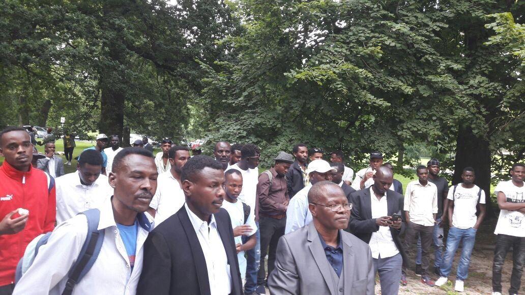 حركة / جيش تحرير السودان (قيادة مناوي) مكتب ألمانيا تقيم يوم أسري إجتماعي
