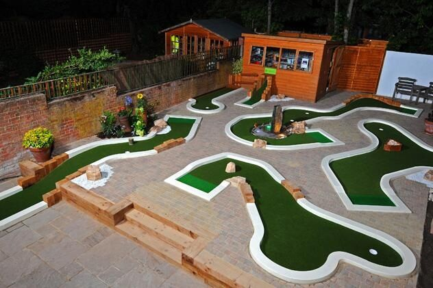 Mini Golf Back Garden