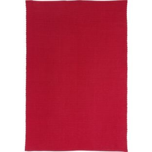 Buy Colourmatch Cotton Rug Poppy Red At Argos Co Uk
