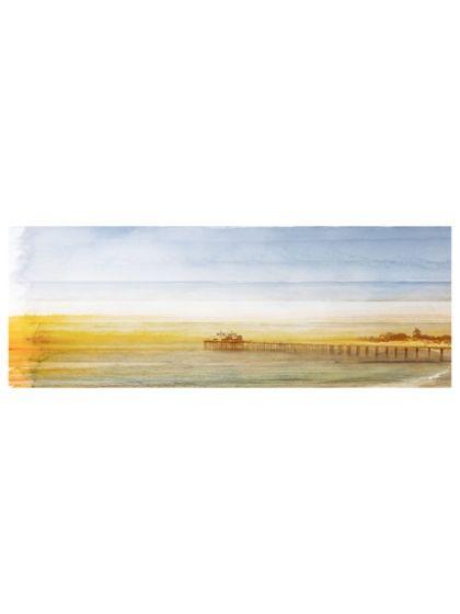 Malibu Pier (Canvas) by Parvez Taj at Gilt www.parveztaj.com
