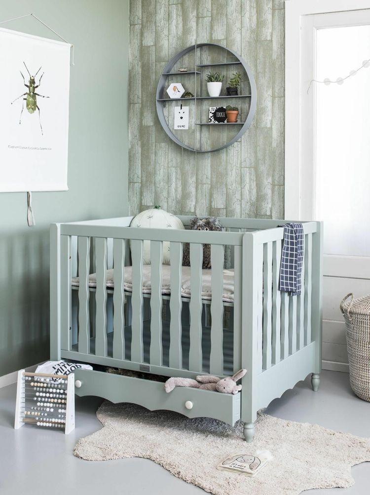 Babyzimmer in Mint und Grau – Inspirierende Ideen für ein ...