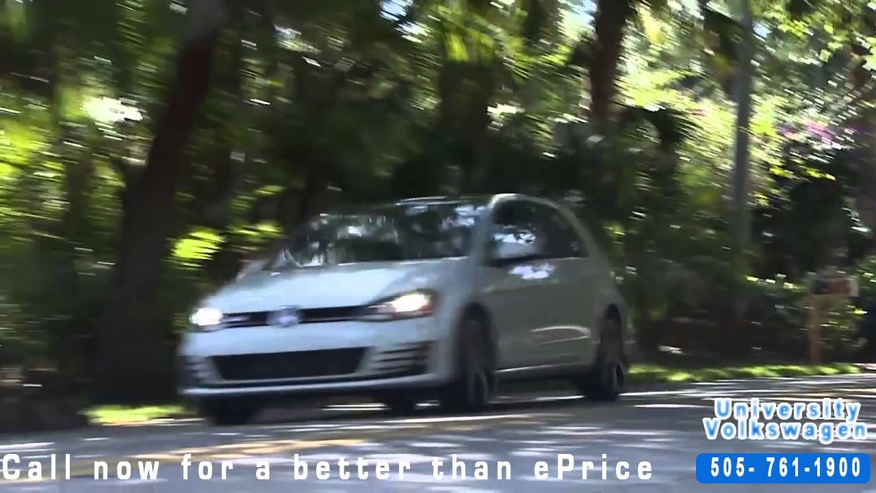 University Volkswagen Driving A DSG Tips Albuquerque, NM ...