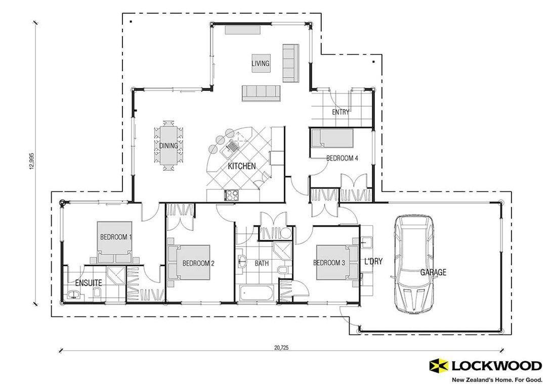 Kaipara House Plans New Zealand House Designs NZ – Nz House Designs And Floor Plans