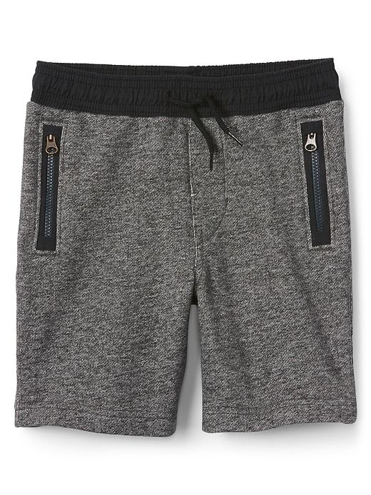 381b61e14f Gap Baby Pull-On Shorts In French Terry Charcoal Gray | Products ...