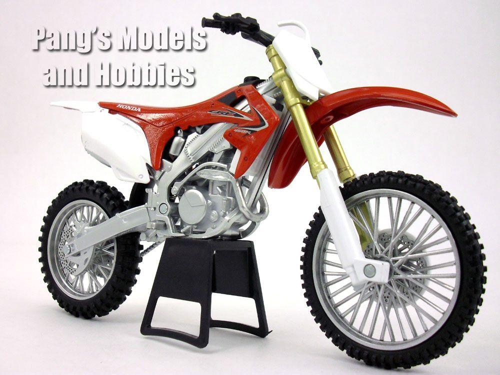 Honda CRF450R Dirt/Motocross Motorcycle 1/12 Scale Model