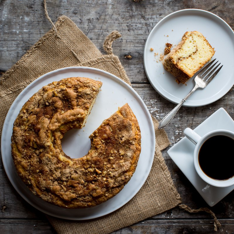 Vermont Maple Sour Cream Coffee Cake Recipe Coffee Cake Sour Cream Coffee Cake Coffee Cake Recipes