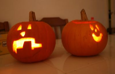 Pumpkin Carving In The Bath And With A Power Tool Pumpkin Carving Carving Pumpkin