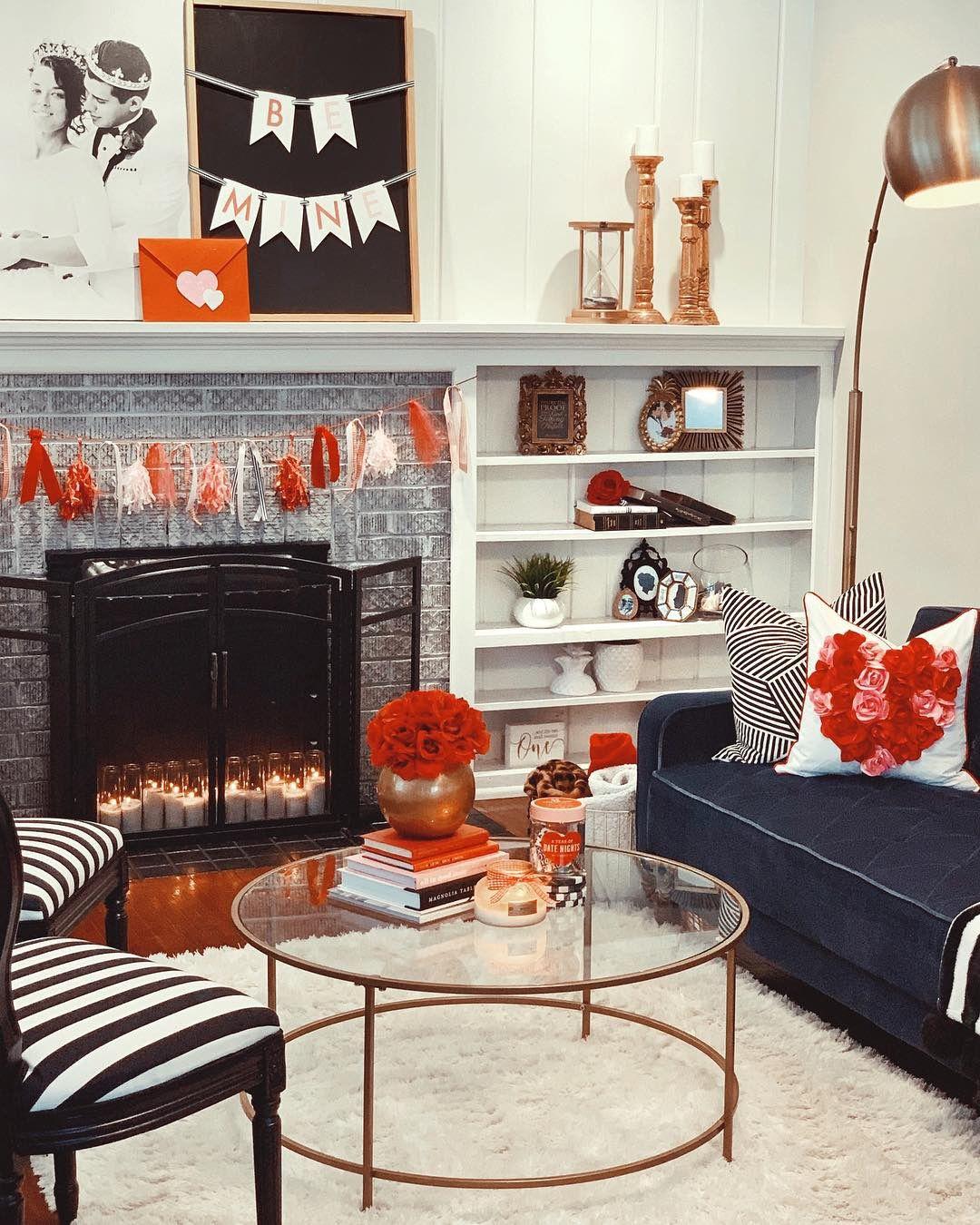 Living room  valentines decor bonillabode also day of love rh pinterest