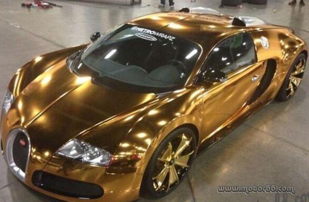 Bugatti Veyron Recubierto De Oro De 24k Del Rapero Flo Rida Cars