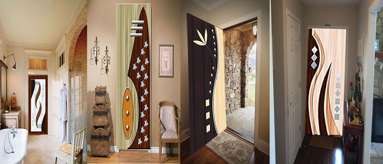 Sunmica Printed Paper Door Decorative Door Stickers Decorative