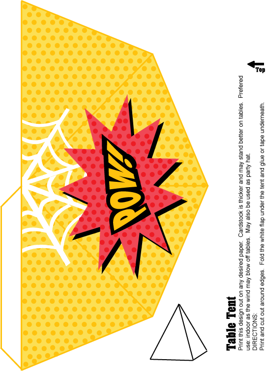 Undefined Http Www Familyshoppingbag Com Spiderman Printables Htm Vsdeffi5dax Table Tents Party Tent Party Decorations