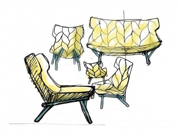 Foliage e twig di patricia urquiola per kartell my for Imitazioni mobili design