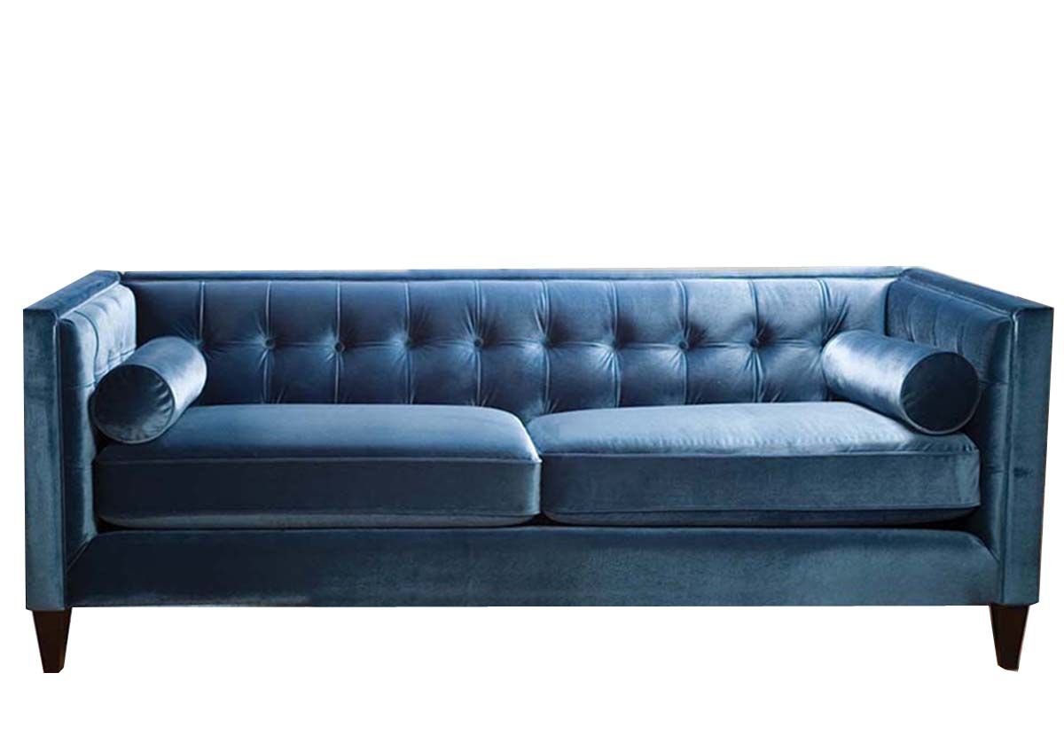 Luxury Bedding Solutions   Fusion Tufted Back Sofa, $2,090.00 (http://www