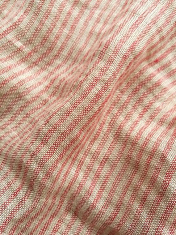 ✿ ✿ ✿ ✿ ✿ This is natural pure linen fabric with