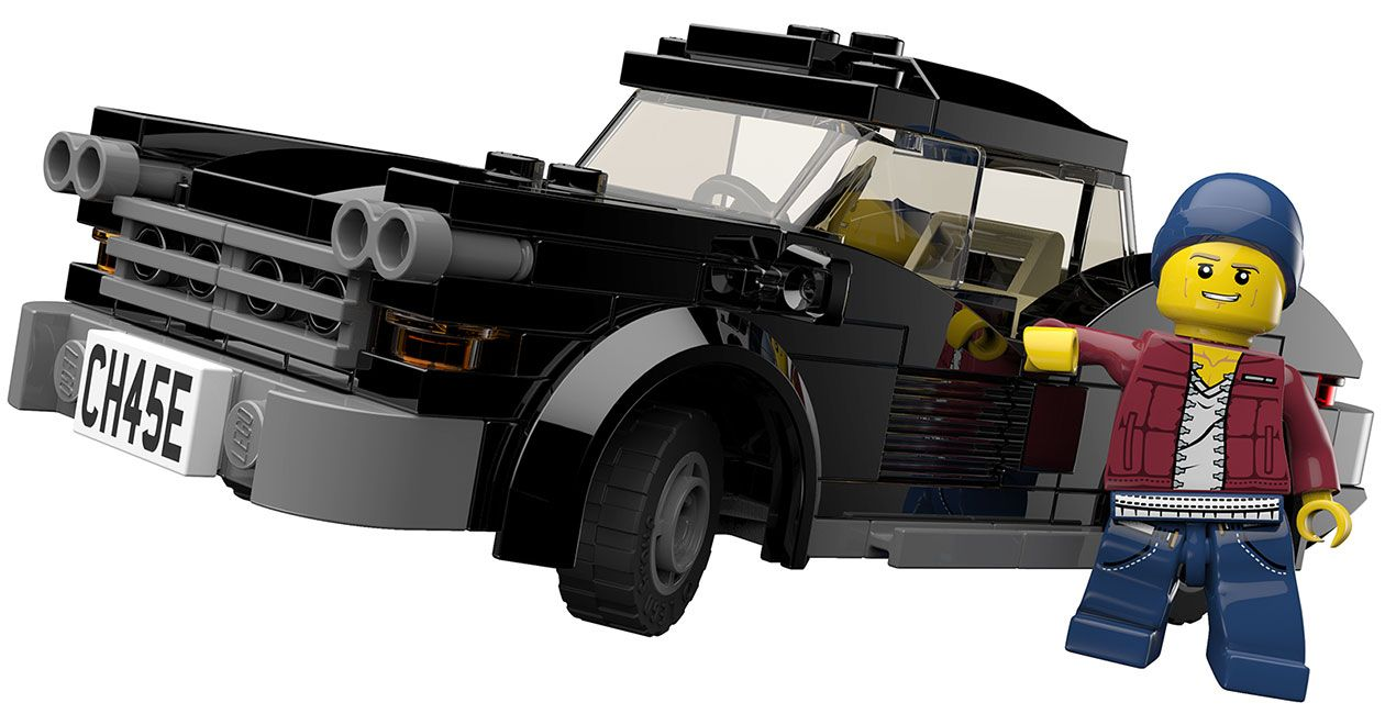 Muscle Car From Lego City Undercover Lego City Undercover Lego City Lego Cars
