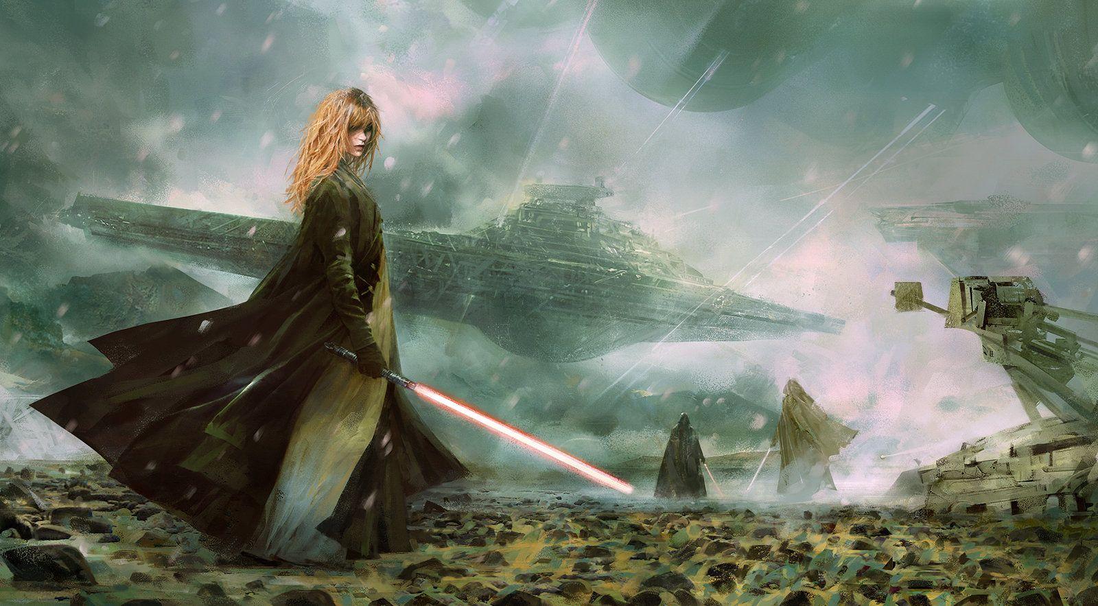 Звездные войны-картинки в стиле фэнтези