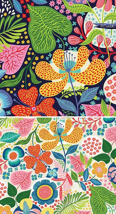 Vintage Bloom . . .