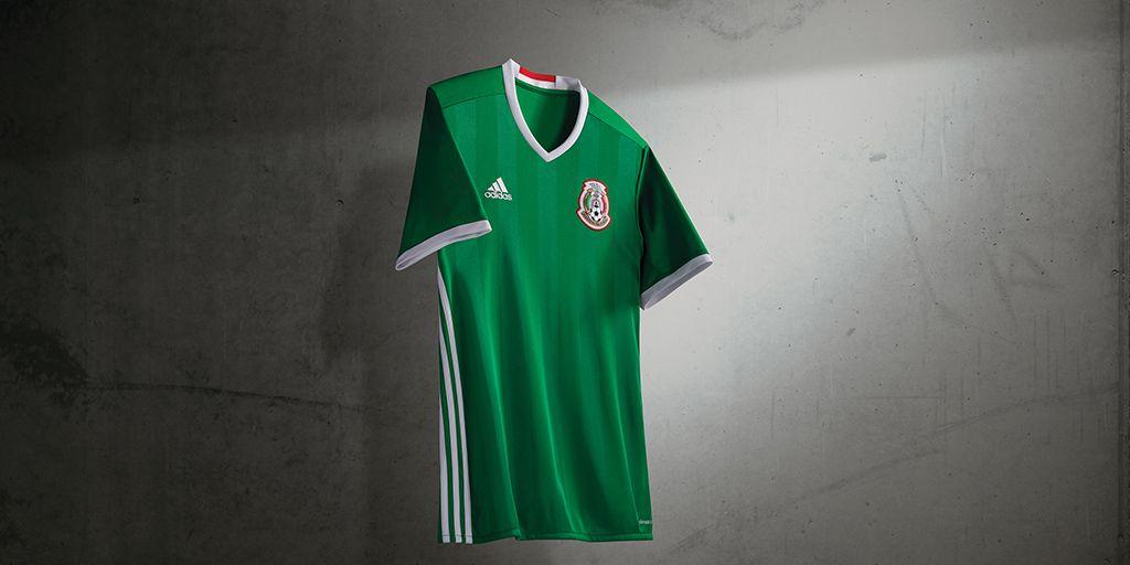 86ef9c0d04fb0 Playera  Adidas  México  CopaAmérica 2016  Backrogreen