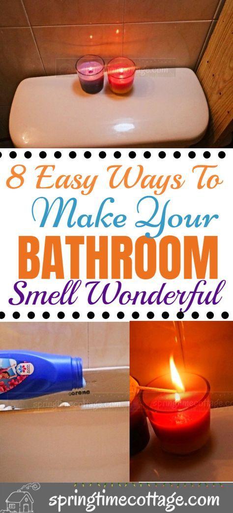 Pin by Armelia S. Patton on angle saved   Bathroom smells ...