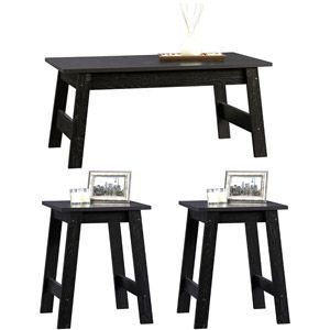 Sauder Beginnings 3 Piece Coffee And End Tables Value Bundle