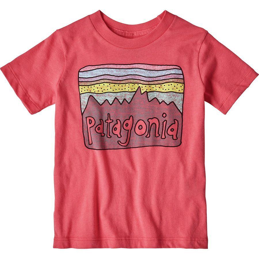 af4858f42 Patagonia Fitz Roy Skies Organic T-Shirt - Toddler Girls