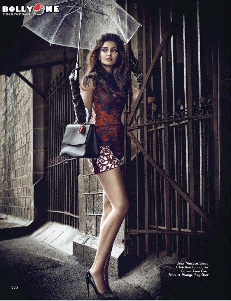vogue magazine september 2014 sonam kapoor hq pictures | lovely
