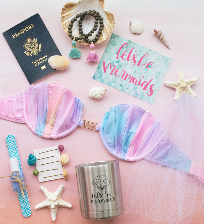 Mermaid-themed Bachelorette Party // LivvyLand | Best Beauty & Style ...