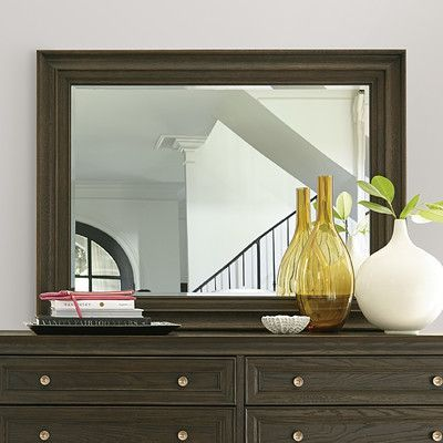 Universal Furniture California Rectangular Dresser Mirror Finish: Hollywood Hills