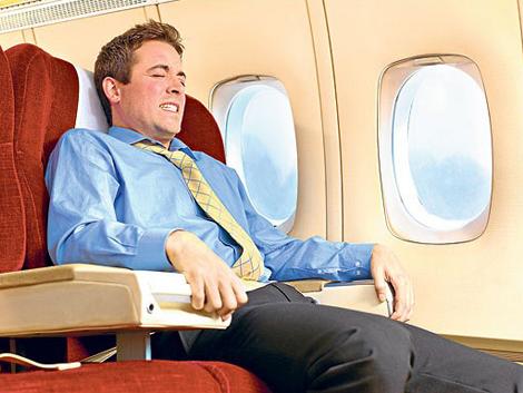 O UNIVERSO DOIDO DA CLA: Medo de Avião