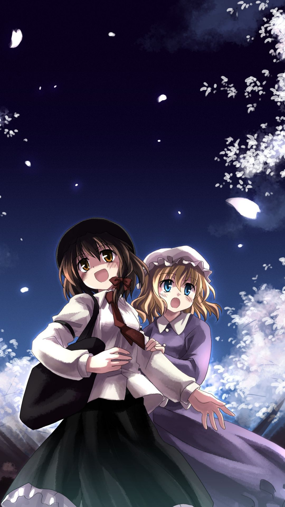 Wallpapers graphics, rin, sky, anime, darkness Anime