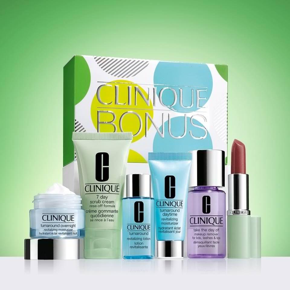 24-30 Jun 2016: Clinique FREE Glowing Skin Kit