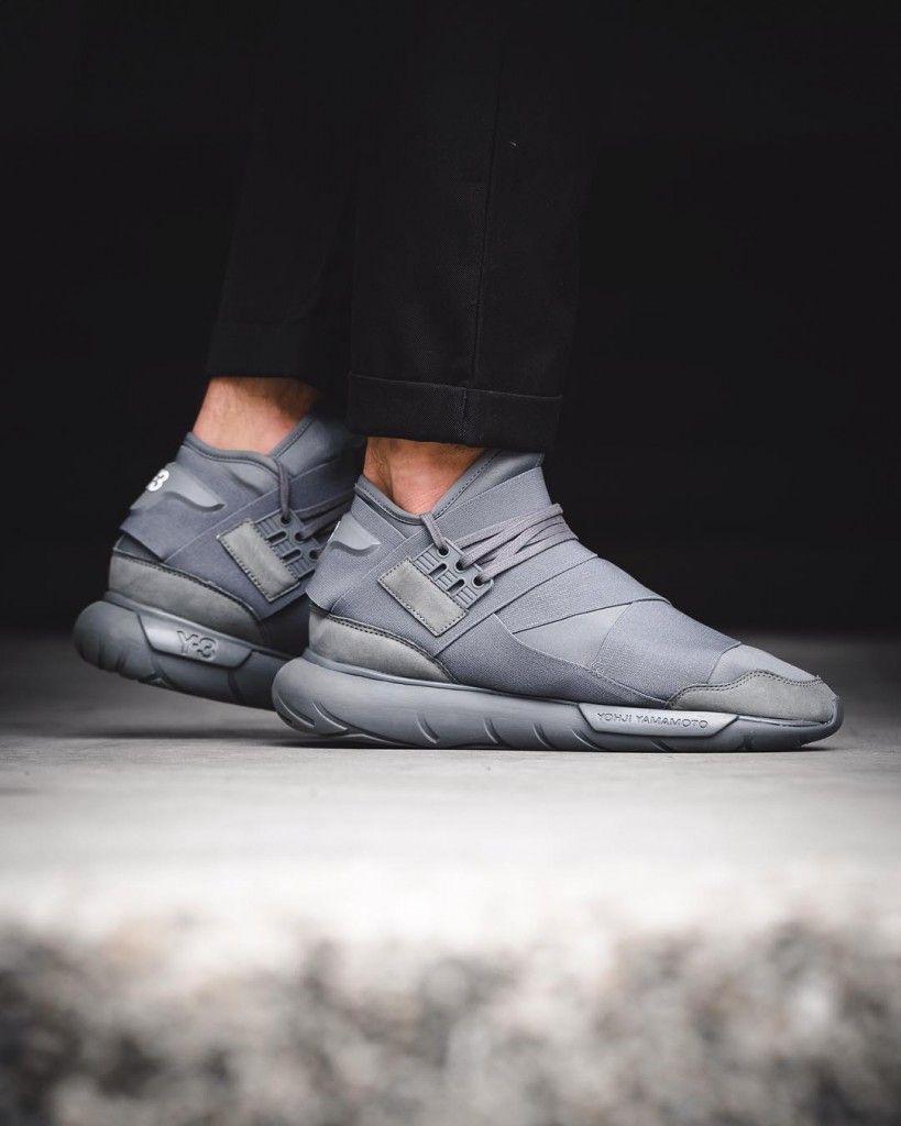 Kicks: Adidas Y-3 Qasa High 'Vista Grey