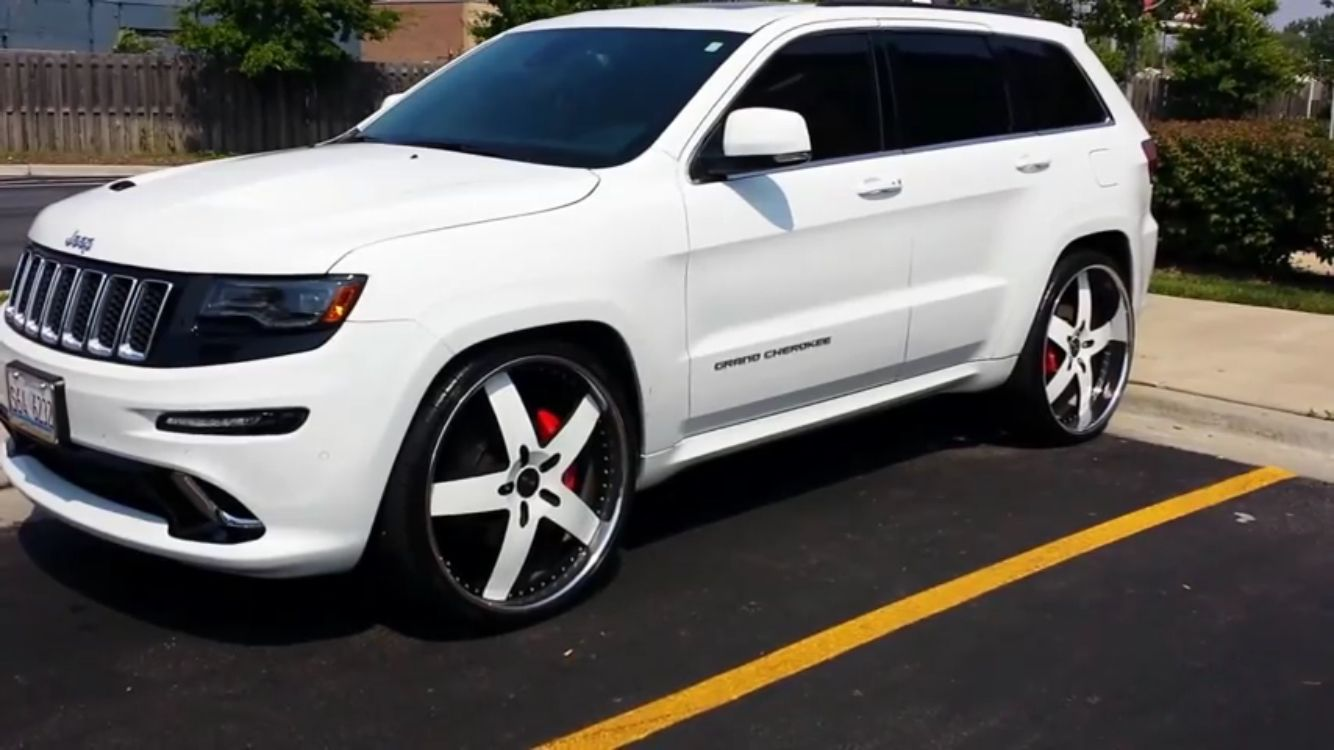Jeep Grand Cherokee On 26s Jeep Grand Cherokee Jeep Cherokee Jeep