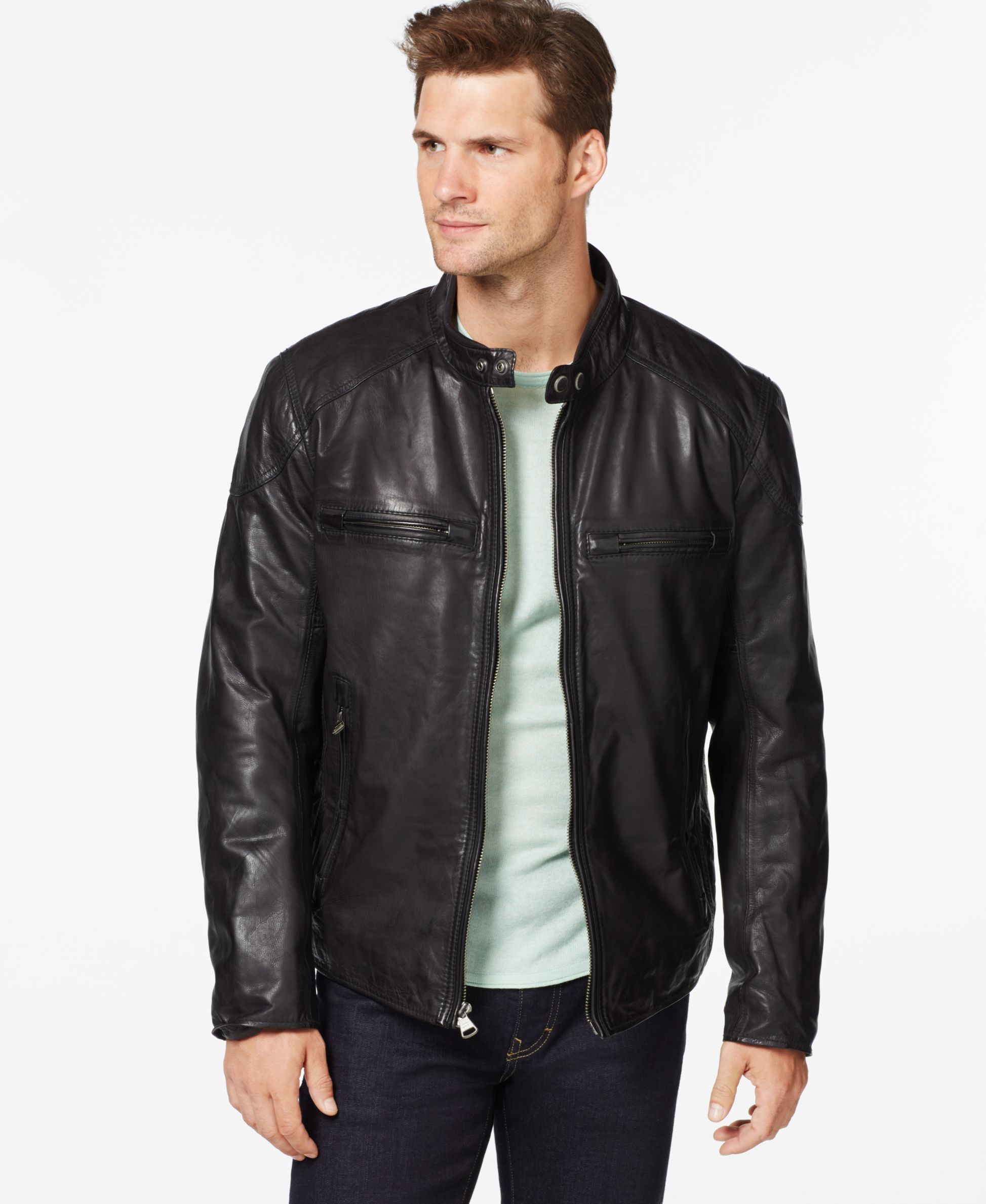 Marc New York Mac Moto Leather Jacket Leather jacket