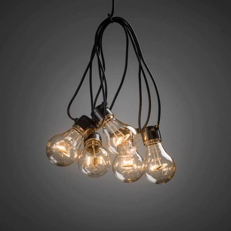 24v Lichtsnoer 20 Lampen Feestverlichting Lampen Tuinverlichting