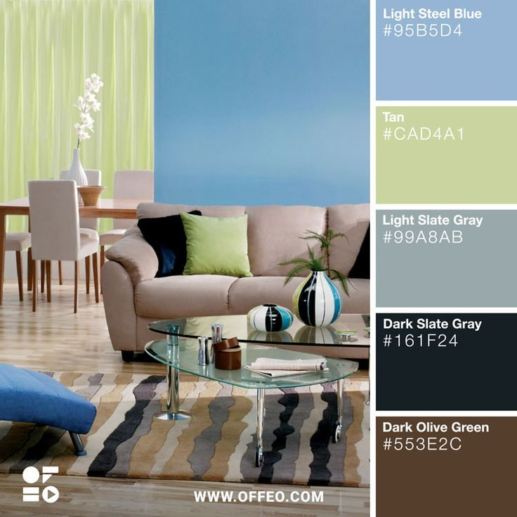 20 Modern Home Color Palettes To Inspire You House Colors House
