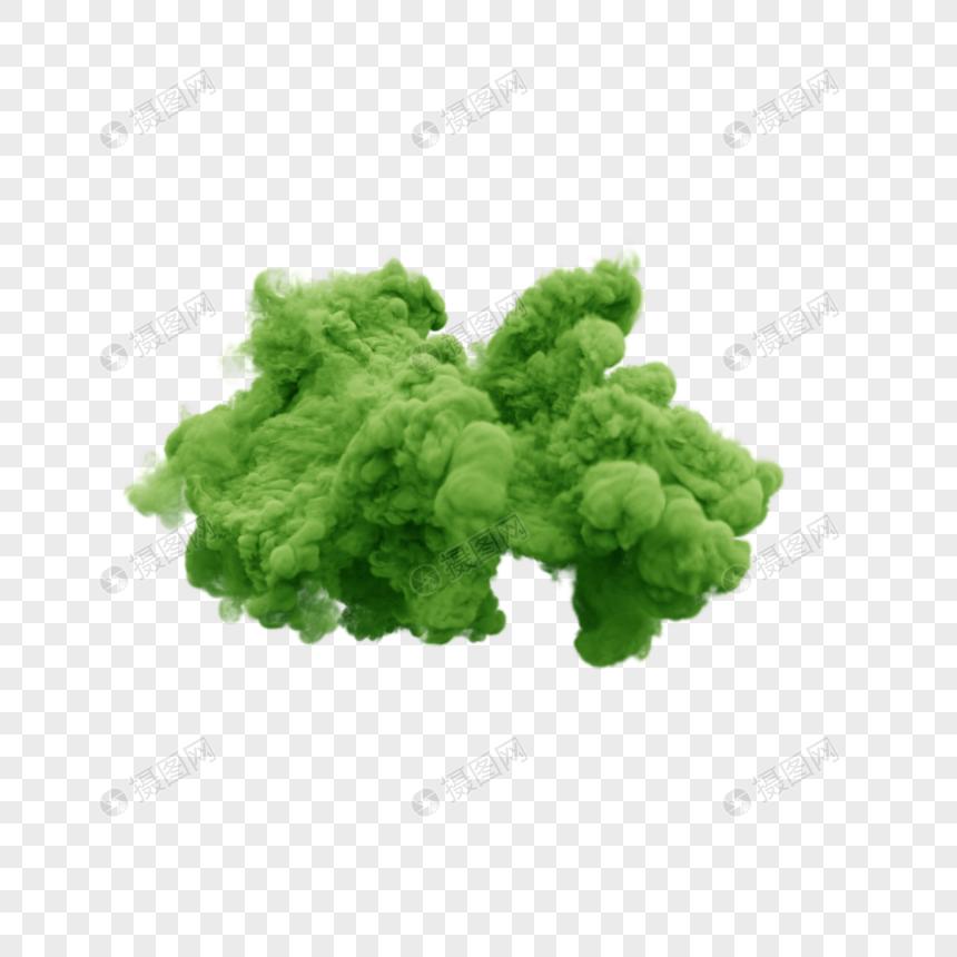 Green Smoke Smoke Color Smoke Explosion Smoke Powder Smoke Color Smoke Smoke Pictures