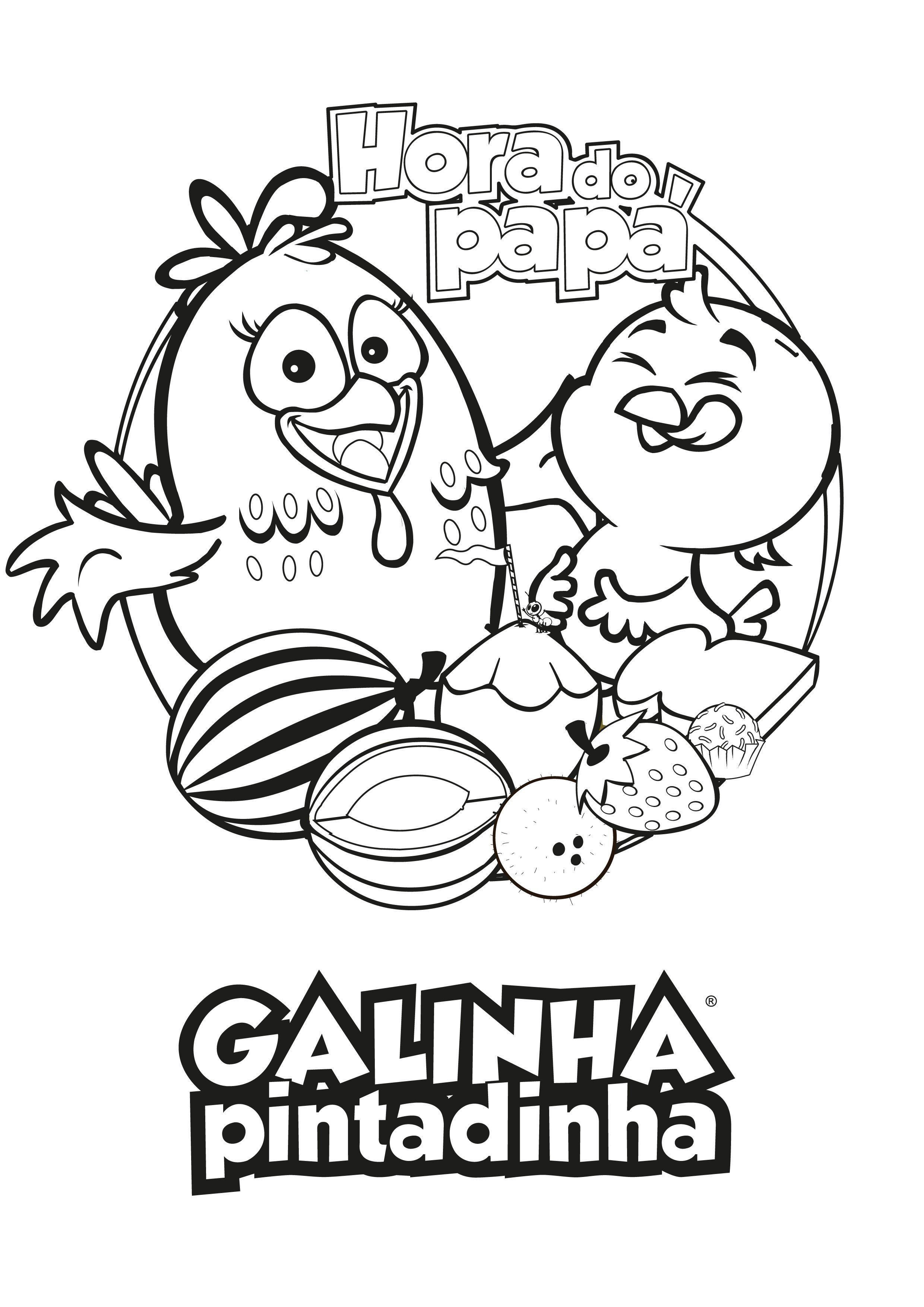 Pin De Lmi Kids Disney Em Lottie Dottie Galinha Pintadinha Com