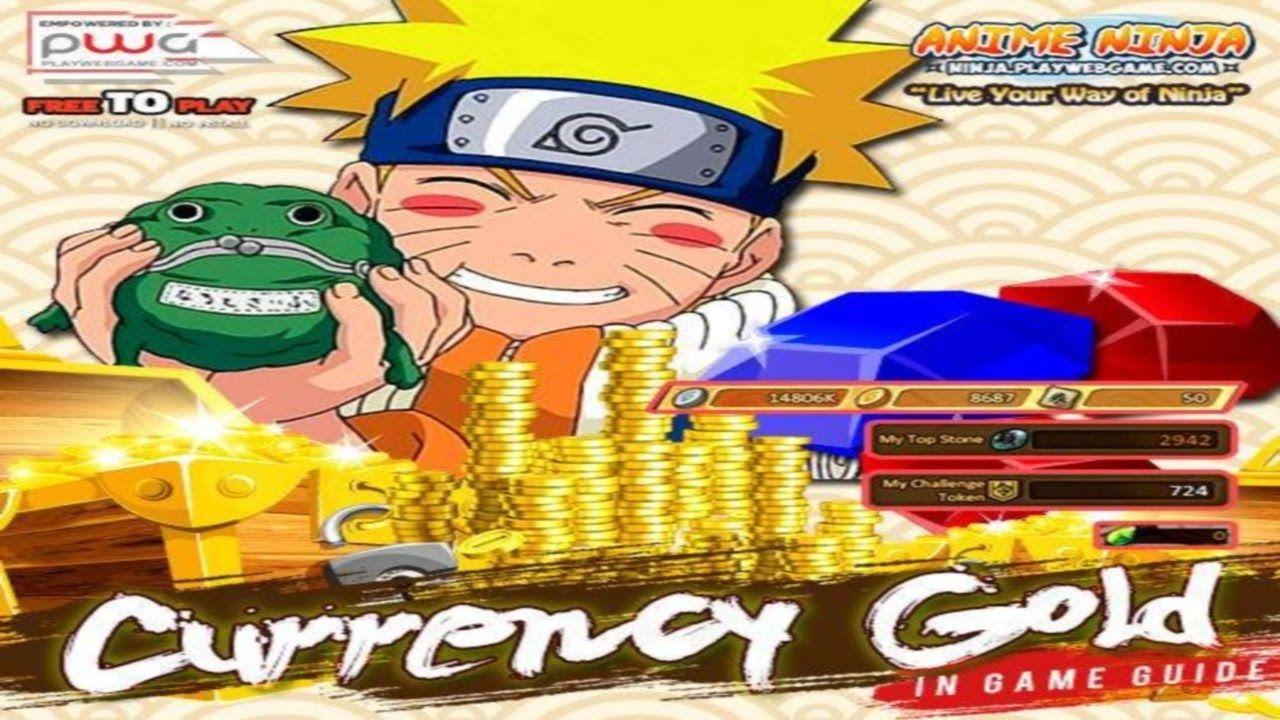 Anime Ninja Great Rebate Gold Naruto Games Browser