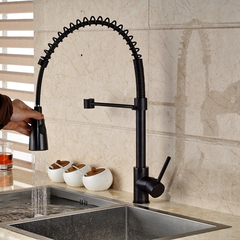 compare prices on rubbed bronze kitchen faucet online shopping ...