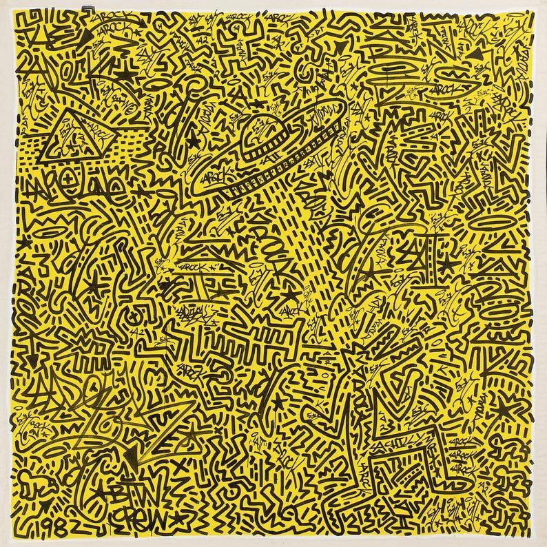 Keith Haring Wallpaper Etsy