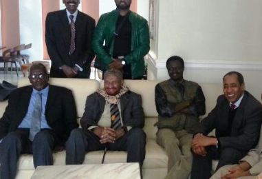 NUP's Mahdi in Addis Ababa for talks on unity of Sudan's opposition forces
