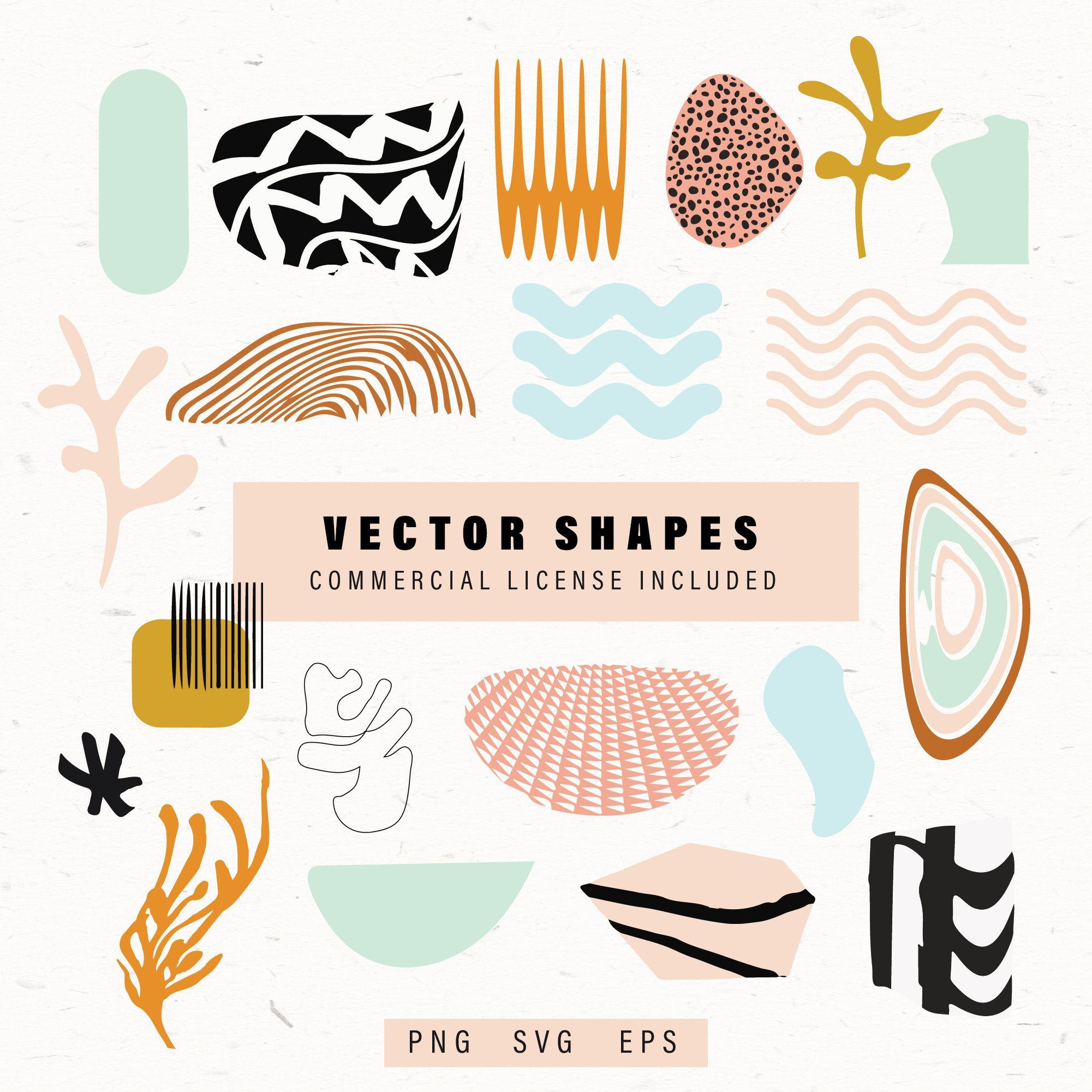Abstract Shapes Svg Set Bright Clipart Graphic Design Etsy Organic Graphic Design Graphic Design Fun Kids Graphic Design