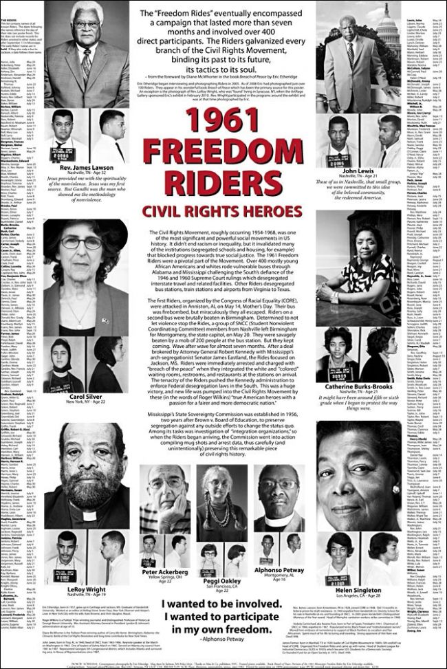 The Freedom Riders, Then and Now