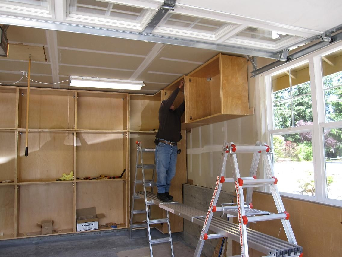 Wood garage cabinet plans cabinets garage cabinets and for Diy garage plans