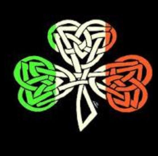 Celtic four leaf clover.
