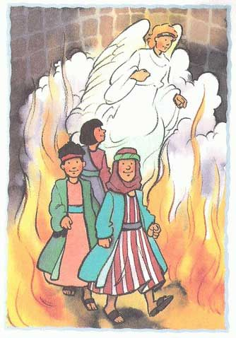 Read and listen shadrach meshach and abednego old testament story