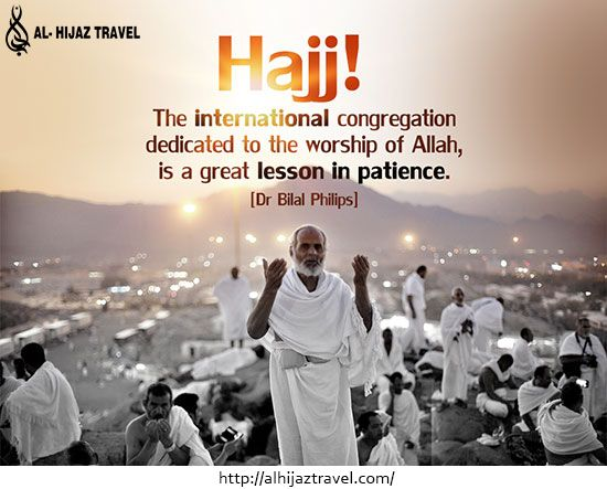 Umrah and hajj journey brings peace to the heart of every muslim