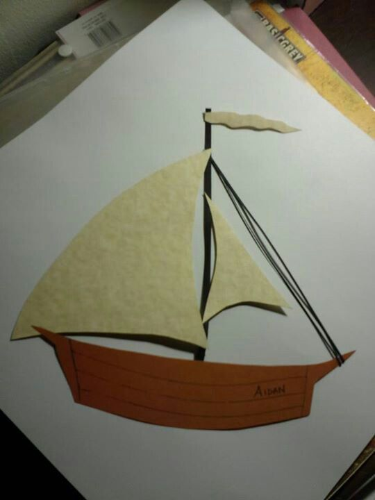 Max's boat for Aidan's where the wild things are birthday party