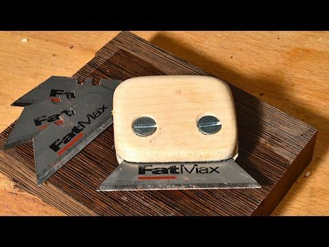 Making A Card Scraper And Holder From An Old Saw Blade Youtube Diy Homemade Tools Woodworking Tools Workshop